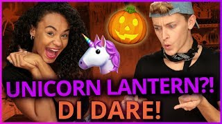 Damon and Jo are challenged with a DIY unicorn pumpkin craft for Ha...
