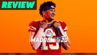 Madden NFL 20 Review (Video Game Video Review)