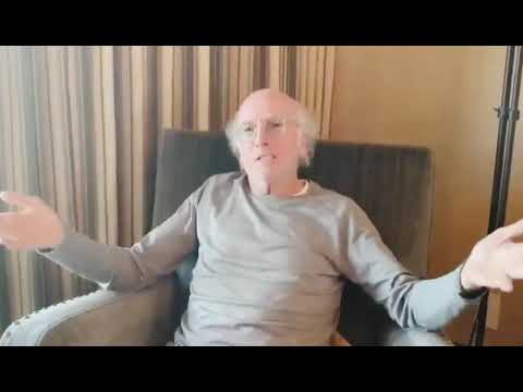 Larry David Urges Idiots to Stay Inside and Watch TV in Humorous ...
