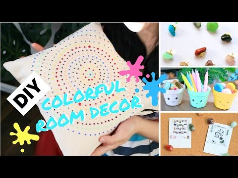 DIY COLORFUL ROOM DECOR (INDONESIA)