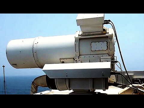 DRONE KILLING LASER cannon live-fire! (U.S. Navy tests FUTURISTIC PHOTON WEAPON! LaWS in ACTION!)