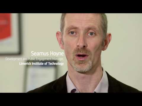 Seamus Hoyne, European Green Ambassador 2017