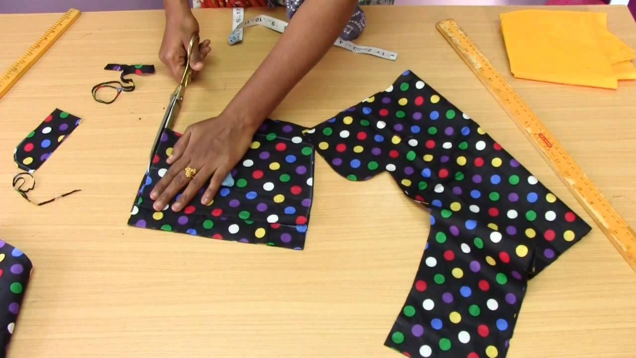 4a35bb9b42 Baby Dress 1 Marking   Cutting - YouTube