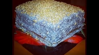 How to make Semolina and Poppies Seeds Cake. Recipe demonstration Thumbnail