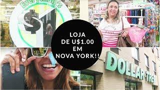 TOUR PELA LOJA DE UM DOLAR EM NOVA YORK!
