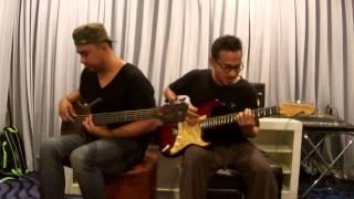 ศึกษานารี - LABANOON [Bass & Guitar Cover by อะแนน vs เมทิ]