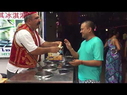 Turkish Ice Cream With Fun @ Walking Street Pattaya