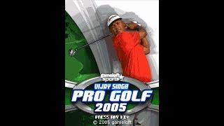 """Vijay Singh Pro Golf 2005"" - Gameloft 2005 year (Java Game)"