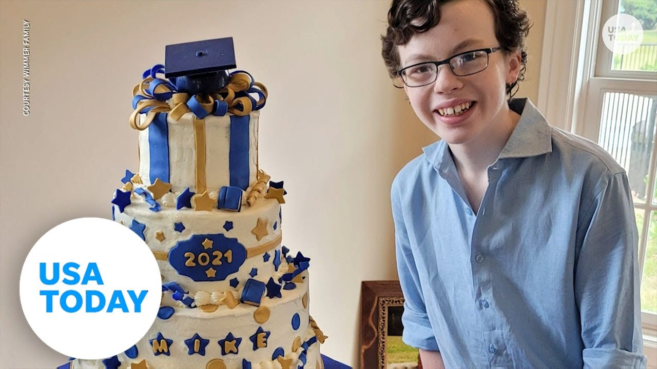 12-year-old graduates from high school and college in same year | USA TODAY