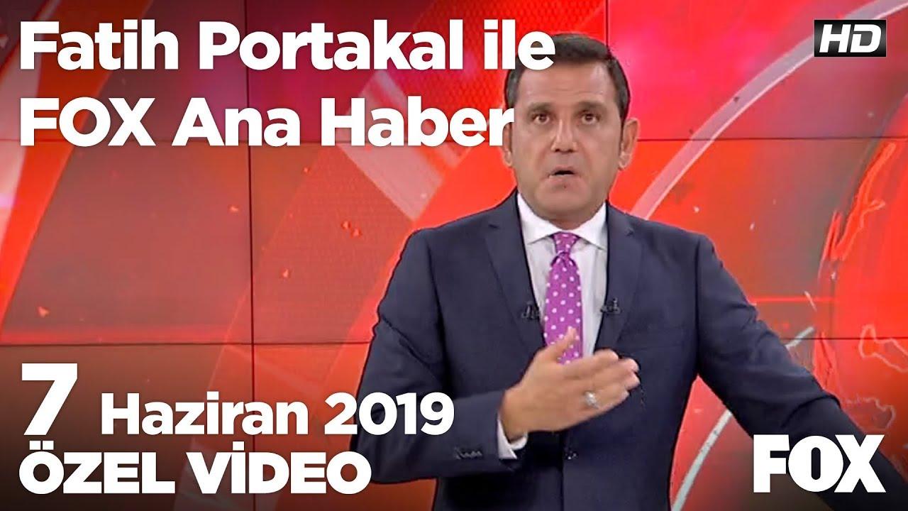Fox Haber İzle, 07 Haziran 2019.. Soylu: Mafyavari bir dille tehdit edildim...
