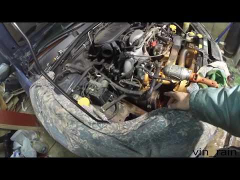 Замена уплотнительный колец свечных колодцев Subaru Legacy Outback