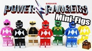 Video Power Rangers Movie Custom LEGO Minifigures 2017 download MP3, 3GP, MP4, WEBM, AVI, FLV Oktober 2018