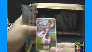Moshi Monsters Moshlings Series 1 Blind Pack BOX Opening Part 1 / 2