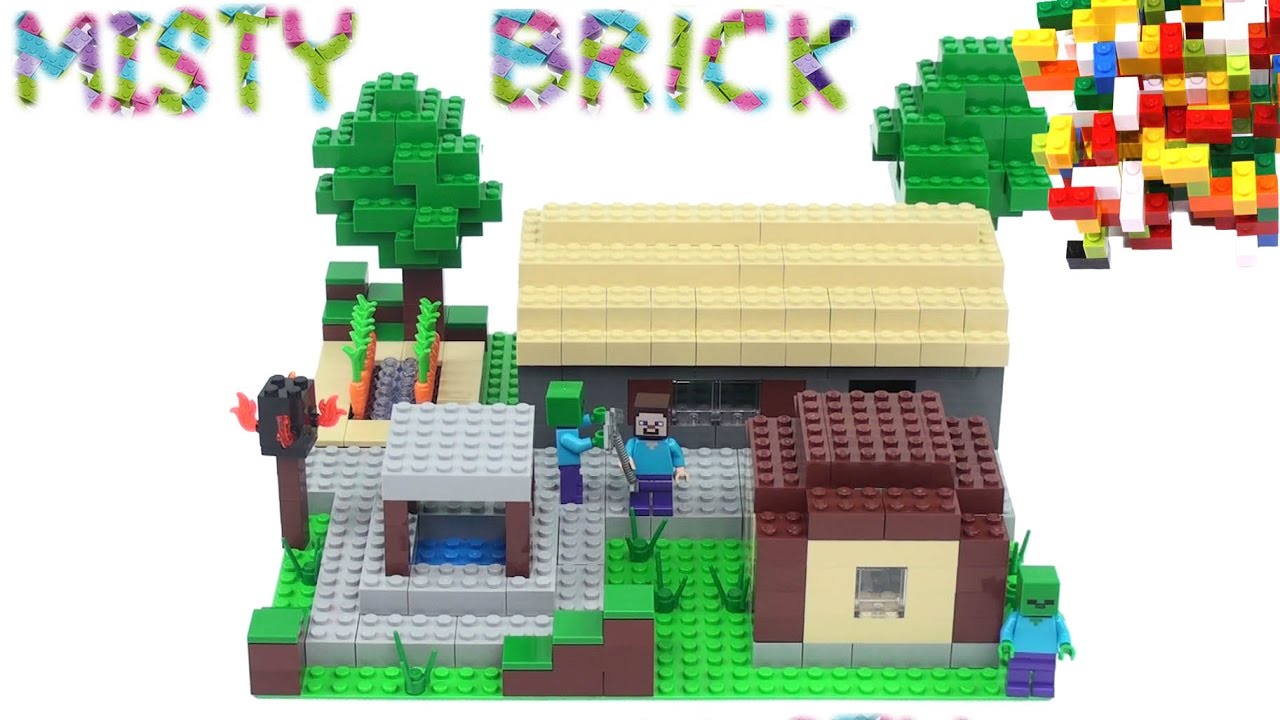 Minecraft Lego Steve U0026 39 S House 1  By Misty Brick