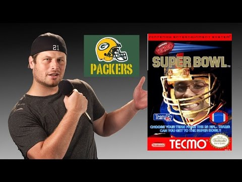 Tecmo Super Bowl - NES - Green Bay Packers - Tecmo Madison XIII Training with Mort