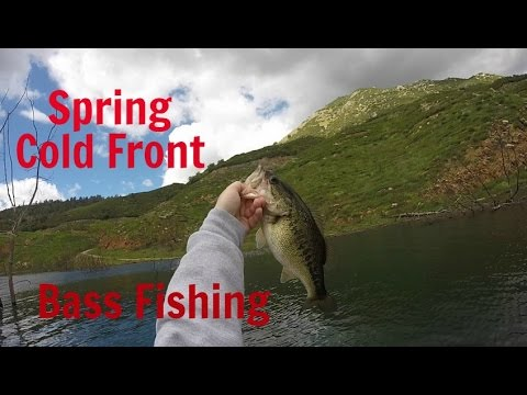 Spring Cold Front Bass Fishing