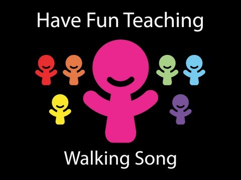 Walking Song (Fitness Songs for Kids - Audio)