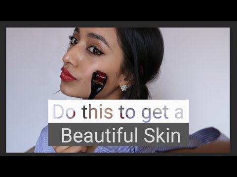 How To Use a DERMAROLLER For Beginners and Its Benefits| Micro Needling