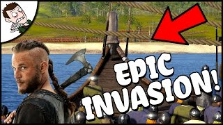 INVASION OF ENGLAND! - Danelaw v Wessex - Age of Vikings (Total War Attila Mod Gameplay)