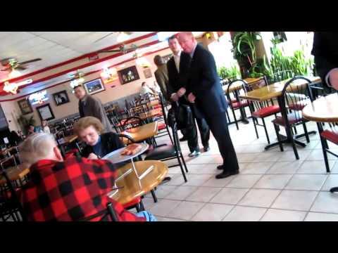 "Guy confronts George H. W. Bush: ""Murderous, Zionist Piece Of Shit"""