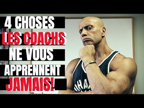 4 Choses que LES COACHS ne vous APPRENNENT JAMAIS!