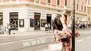 [유럽VLOG]이탈리아 가고 싶어지는 영상✈️/ 로마. 바티칸. 피렌체. 친퀘 테레 / Double Soup