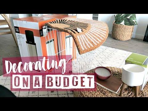DECORATING ON A BUDGET More Kmart, Aldi, H&M Home, TK Maxx // Apartment Update Vlog   Rachael Jade
