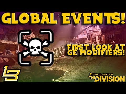 1.7 Global Events: First Look! (The Division)