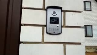 Обзор и установка видео домофона с электрозамком на входе(, 2017-10-28T20:10:47.000Z)