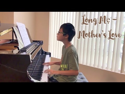 Lòng Mẹ (Mother's Love) - Piano Cover By Johnny Pham
