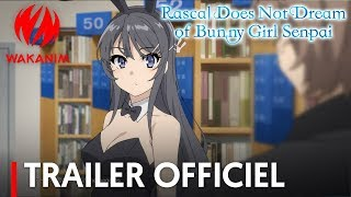 Bande annonce Rascal Does Not Dream of Bunny Girl Senpai