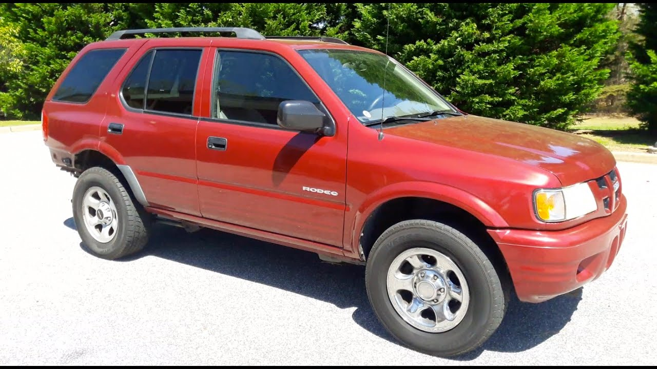 small resolution of 2004 isuzu rodeo 4x4 3 2l 1250 copart purchase part 1