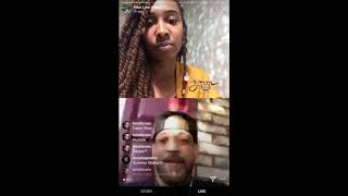 AybrielBTV interviews singer J Holiday on IG Live.