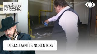 AS COZINHAS MAIS NOJENTAS DA 1ª TEMPORADA | PESADELO NA COZINHA