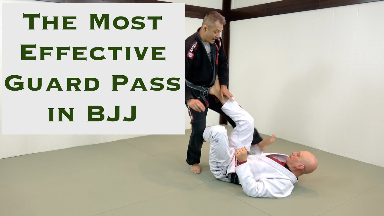 how to pass the guard bjj