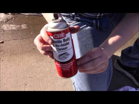 how to clean throttle body 2014 ford escape