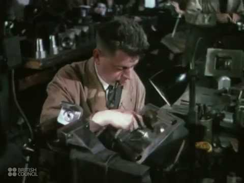 Plastics - 1940's British Council Film Collection - CharlieDeanArchives