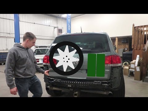 Touareg Spare Tire Carrier Build Part 1