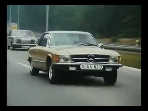 Mercedes SLC C107 Commercial Classic TV Ad - Carjam TV Show About Cars 2013