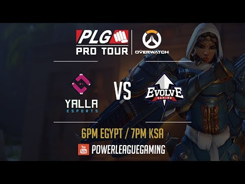 PLG Pro Tour: Overwatch 2017 Losers Finals - [UAE] YaLLa eSports vs [KWT] Evolve Gaming