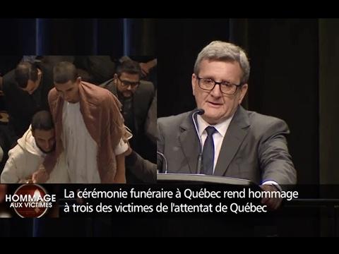 Attentat de Québec - Hommage aux victimes à Québec (3 février 2017)