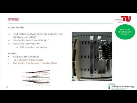 B&B: Online optimal experimental re-design in robotic parallel fed-batch cultivation facilities