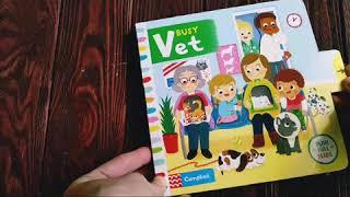 Busy vet. Книги про животных. Книги про ветеринарную клинику. Книги на английском для детей.