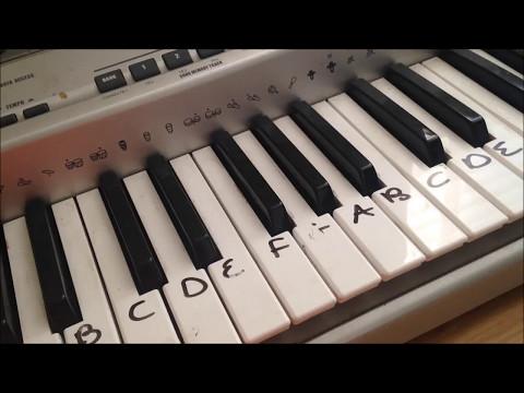 Megalovania |EASY Piano TUTORIAL| UNDERTALE Tiktok meme