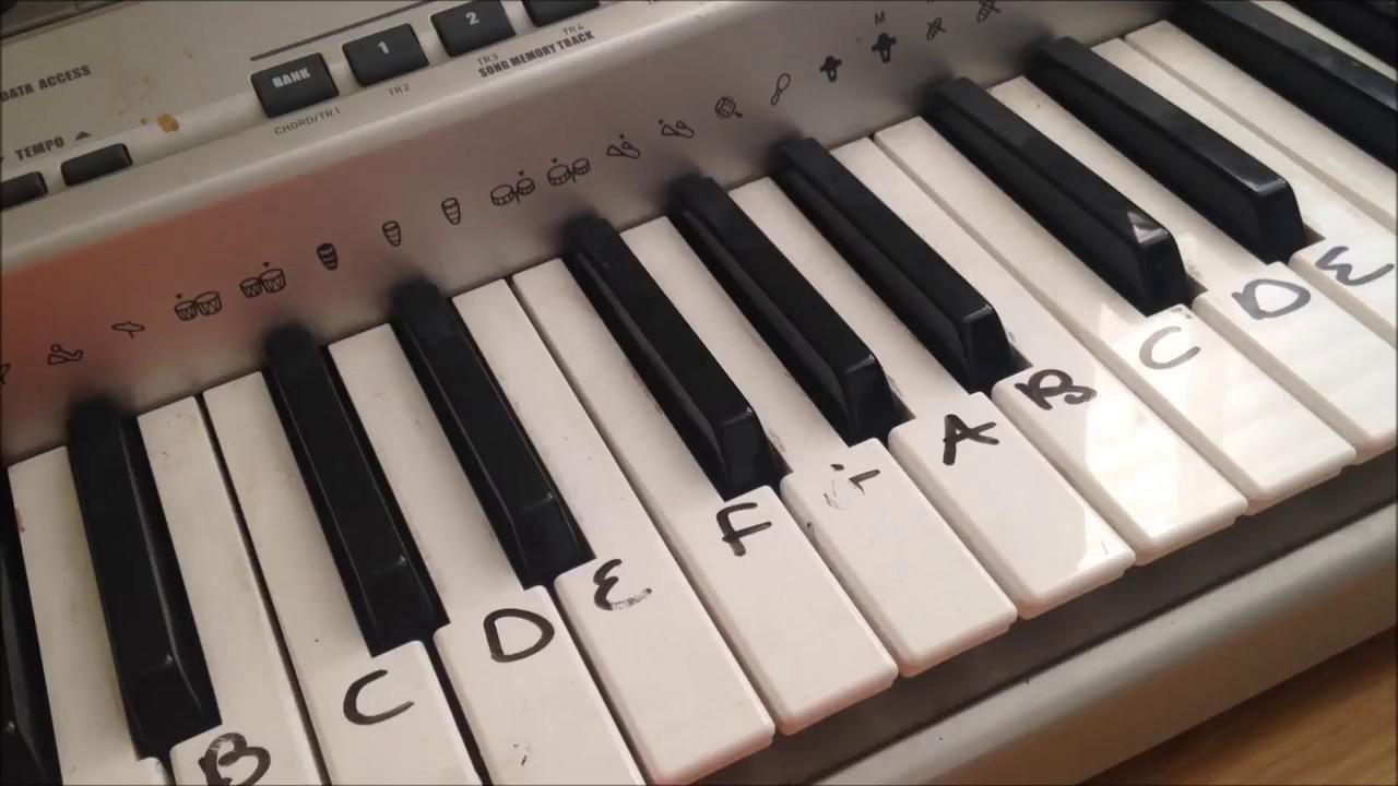 Megalovania | EASY Piano TUTORIAL| UNDERTALE Tiktok meme