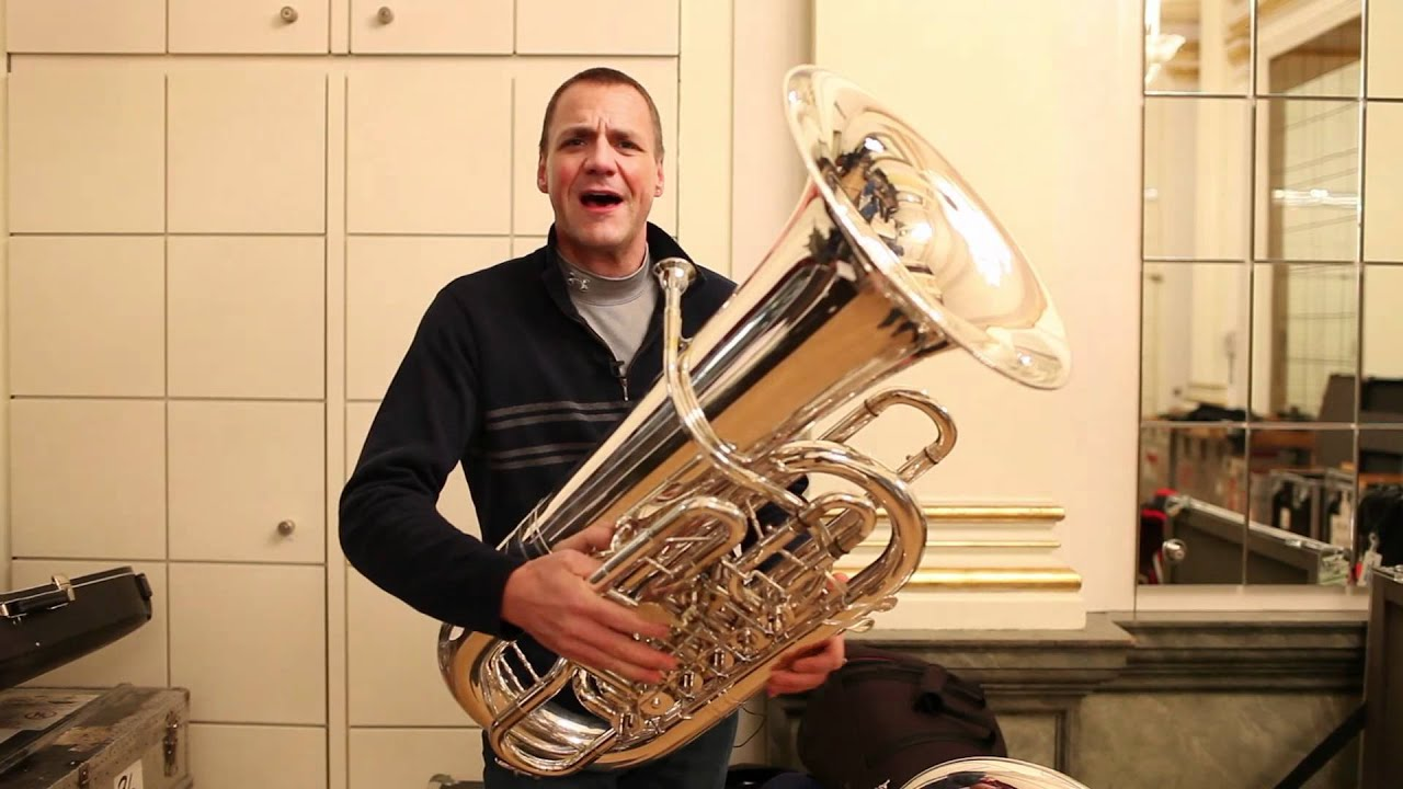 Meet Philharmonic Principal Tuba Alan Baer and His Three Tour Tubas, 02/09/12