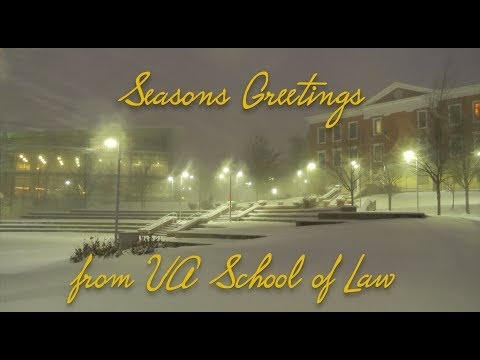 Law Dean Holiday Greeting
