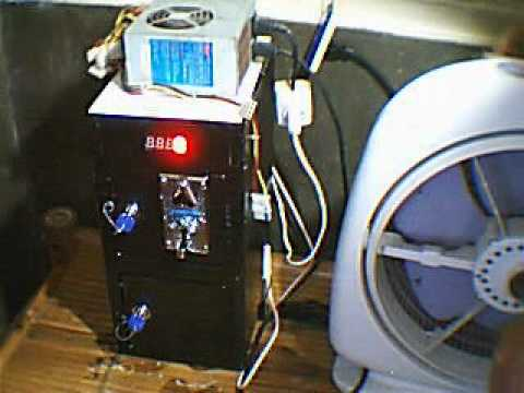 PC Coin box with coinslot & timer / Coin Operated Appliances.wmv