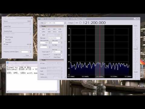 108.4 MHz Schiphol VOR & ATIS 2013-05-23