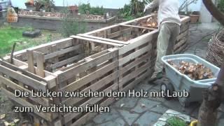 Das 5qm Europaletten Hochbeet How-To